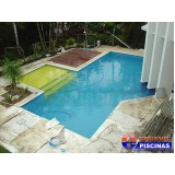 piscina de concreto armado para casas Jaguariúna
