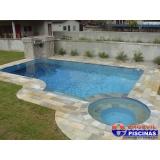 piscina de concreto armado para clubes Bom Clima