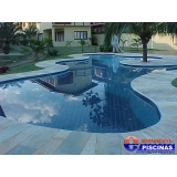 piscina de concreto armado para condomínios preço Interlagos