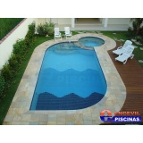 piscina de concreto armado para hotel Guararema