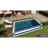 piscina de concreto armado sob medida preço Santa Paula