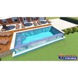 piscina de concreto armado sob medida em Interlagos