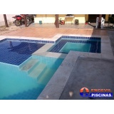 piscina de concreto armado suspensa preço Botucatu