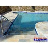 piscina de concreto em sp preço Jardim Aracília