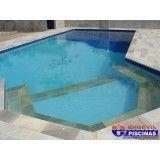 piscina de concreto infantil em Higienópolis