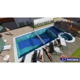 piscina de concreto personalizada em Santo André