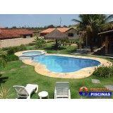 piscina de concreto preço Maia