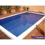 piscina de fibra com hidro preço Nova Gerty