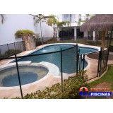 piscina de fibra deck madeira em Santana de Parnaíba