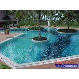 piscina de fundo infinito quanto custa no Arujá