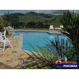 piscina elevada com deck preço Jardim Aracília