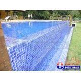 piscina elevada de alvenaria preço na Vila Fátima