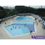 piscina elevada preço Olímpico