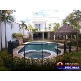 piscina fibra deck preço Parque Flórida