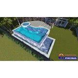piscina infantil personalizada em Alphaville