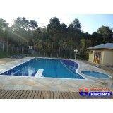 piscina para academia preços Água Azul