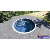 piscina personalizada para academia em São Vicente