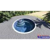 piscina personalizada para academia Camilópolis