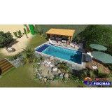 piscina personalizada para casas Bairro Silveira