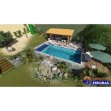 piscina personalizada para casas Vila Municipal
