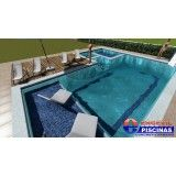 piscina personalizada para residências em Porangaba