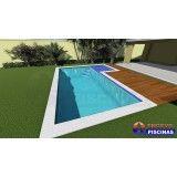 piscina personalizada residencial na Vila Mariana