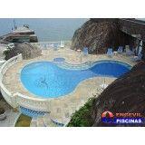 piscina residencial em sp preço Homero Thon