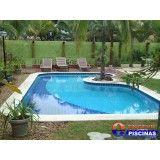 piscina residencial preço em Santana