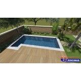 piscina sob medida de concreto preço em Guararema