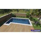 piscina sob medida de concreto preço Vila Barros