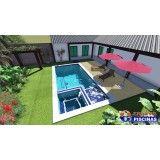 piscina sob medida em são paulo preço Jardim Cristiane
