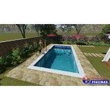 piscina sob medida em sp em Botucatu