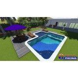 piscina sob medida preços em Moema