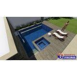 piscina sob medida quanto custa em Interlagos