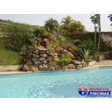 piscinas com deck de madeira preço em Itupeva
