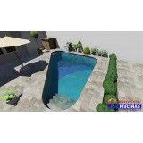 piscinas customizadas preço Vila Barros