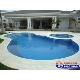piscinas de alvenaria com azulejo Jacareí