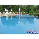 piscinas de alvenaria de canto Fundação