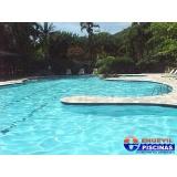piscinas de alvenaria elevada Americana