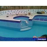 piscinas de alvenaria grande Santo Antônio