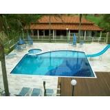piscinas de alvenaria no terraço Louveira