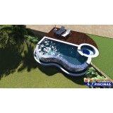 piscinas de alvenaria personalizadas preço Fundação