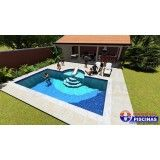 piscinas de alvenaria personalizadas em Taubaté