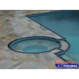 piscinas de alvenaria suspensa Jardim Cristiane