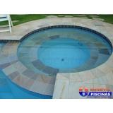 piscinas de concreto armado para clubes Jardim Guarará