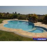 piscinas de concreto armado para residências em Botucatu