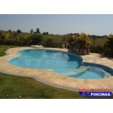 piscinas de concreto armado para residências Sorocaba