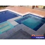 piscinas de concreto armado preço Bosque Maia