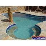 piscinas de concreto armado suspensa Bosque Maia