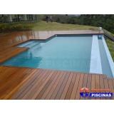 piscinas de concreto armado no Jardins